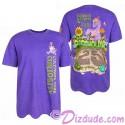 Purple Passholder Adult T-shirt (Tee, Tshirt or T shirt) - Disney Epcot International Flower & Garden Festival 2018