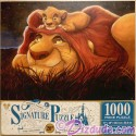 Lion King 20th Anniversary 1000 Piece Disney Signature Puzzle