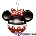 Disney Minnie Mouse Ears Christmas Tree Ornament