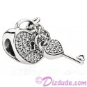 Disney Pandora Lock of love Charm with Cubic Zirconias - Mothers Day Collection 2015