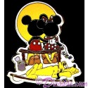 Norman Rockwell Recreation: Puppy Love with Mickey, Minnie Mouse & Pluto Pin Autographed by Disney Artist Linda Rogers