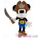 Pirate Mickey Mouse 9 inch (23 cm) Plush ~ Pirates of the Caribbean