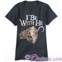 Pirates Of The Caribbean I Be With He Companion Adult T-shirt (Tee, Tshirt or T shirt)