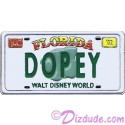 Walt Disney World - Cast Lanyard Series 1 - Dopey License Plate Pin