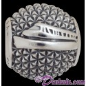Disney Pandora Epcot spaceship Earth Sterling Silver Charm - Disney World Parks Exclusive
