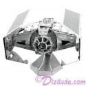 Disney Star Wars Darth Vader's TIE Fighter 3D Metal Model Kit