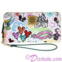 Disney Dooney & Bourke Sketch Wallet