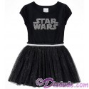 Star Wars Logo Black Youth Dress - Disney Star Wars