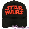Disney Star Wars Title Logo Black & Red Adjustable Baseball Hat
