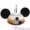 BB-8 (BB8) Astromech Droid Adult Ear Hat - Disney Star Wars: The Force Awakens