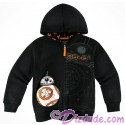 Disney Star Wars BB-8 Youth Zip Hoodie
