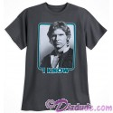 "Disney Star Wars Han Solo ""I Know"" Adult T-Shirt (Tshirt, T shirt or Tee)"