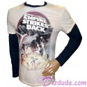 Disney Star Wars Empire Strikes Back Long Sleeved Adult Shirt (Tshirt, T shirt or Tee)