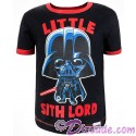 Disney Star Wars Episode VIII: The Last Jedi - Darth Vader Little Sith Lord Toddler Ringer T-Shirt (Tshirt, T shirt or Tee)