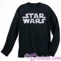 Disney SOLO A Star Wars Story Title Logo Adult Long Sleeve T-shirt (Tshirt, T shirt or Tee)