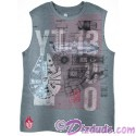 Disney Star Wars Millennium Falcon Sleeveless T-shirt (Tshirt, T shirt or Tee)