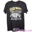 """Disney Star Wars Millennium Falcon """"She's Fast Enough For You Old Man"""" Adult T-Shirt (Tshirt, T shirt or Tee)"""