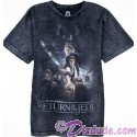 Return Of The Jedi Acid Wash Style Poster Adult T-Shirt (Tshirt, T shirt or Tee) - Disney's Star Wars