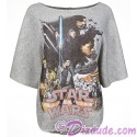 Disney Star Wars: The Last Jedi French Terry Ladies Dolman Top (T-Shirt, Tshirt, T shirt or Tee)