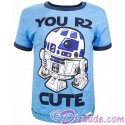 Disney Star Wars Episode VIII: The Last Jedi - You R2 Cute Toddler Ringer T-Shirt (Tshirt, T shirt or Tee)