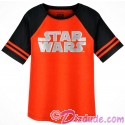 Disney SOLO A Star Wars Story Title Logo Youth Raglan T-Shirt (Tshirt, T shirt or Tee)