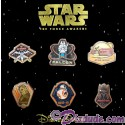 Star Wars The Force Awakens 6 Pin Booster Set