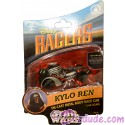 Star Wars The Force Awakens Disney Racer Kylo Ren die cast metal body race car 1/64 scale