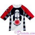 First Order Youth Rashguard Long Sleeved Swim Shirt - Disney Star Wars: The Force Awakens