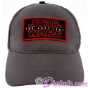 Disney Star Wars Episode VIII: The Last Jedi Title Logo Baseball Hat