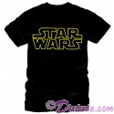 Star Wars Title Logo Adult T-Shirt (Tshirt, T shirt or Tee)