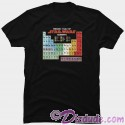Star Wars Periodic Table Adult T-Shirt (Tshirt, T shirt or Tee)