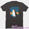 Star Wars: The Last Jedi Retro Porg Adult T-Shirt (Tshirt, T shirt or Tee)