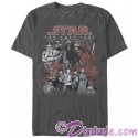 Star Wars: The Last Jedi Character Group Picture Adult T-Shirt (Tshirt, T shirt or Tee)