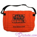 Star Wars REBELS Recruitment Event Attendee Messenger Bag Limited Edition - Disney Star Wars Weekends 2014