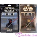 """RARE ~ Triple autographed 2 Action Figure set signed by Disney artists at Star Wars Weekend 2012 ~ """"Donald Duck as Savage Opress"""" LE 2012 & Sneak Preview """"Donald Duck as Darth Maul"""" LE 600 exclusive event packaging"""