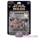 Star Wars X-Wing Pilot Mickey Mouse as Luke Skywalker and Donald Duck as Han Solo Star Tours Action Figure Set Individually Numbered Limited Edition 1980 ~ Disney Star Wars Weekends 2014