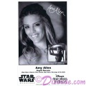 Amy Allen who played Aayla Secura Presigned Official Star Wars Weekends 2015 Celebrity Collector Photo