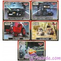 "Complete Set of  Disney Pixar ""Cars"" as LucasFilms ""Star Wars"" Characters 5 Trading Cards Series 3 for Star Wars Weekends 2015"