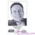 Warwick Davis who played The Ewok Wicket W. Warrick Presigned Official Star Wars Weekends 2013 Celebrity Collector Photo