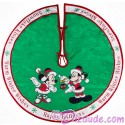 Disney Mickey And Minnie Christmas Holiday Tree Skirt