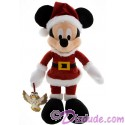 Disney Santa Mickey Mouse 15 inch Plush