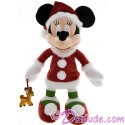 Disney Santa Minnie Mouse 15 inch Plush