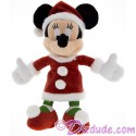 Disney Santa Minnie Mouse 7 inch Plush