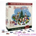 Mickey & Friends Retro Christmas - Holiday 750 Piece Jigsaw Puzzle