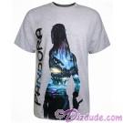 Pandora Na'vi Silhouette Adult T-shirt (Tee, Tshirt or T shirt) - Disney Pandora – The World of Avatar