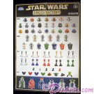 Star Wars Build A Droid Factory Parts Poster 2012 Collection