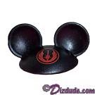 Black Mickey Mouse Ears Hat Part ~ Disney Star Wars Astromech Build-A-Droid Factory © Dizdude.com