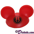 Red Mickey Mouse Ears Hat Part ~ Disney Star Wars Astromech Build-A-Droid Factory © Dizdude.com