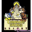 Walt Disney World - Coronado Springs Resort Pin Pre 2000 © Dizdude.com