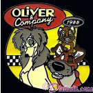 Countdown to the Millennium Series Pin #26 Oliver and Company (Oliver / Dodger / Rita) © Dizdude.com